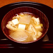 大根・豆腐・油あげの味噌汁