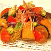 【和風カポナータ】‐夏野菜たっぷり‐旨み凝縮とろ~り♪