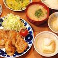 ご飯がもりもりすすむ~♪豚の生姜焼き定食【鳥の巣の直し方】