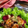 エビと秋野菜のビネガーソテーサラダ (レシピ)