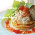 パンケーキバインミーの作り方(動画) by お料理くまチャンネルさん