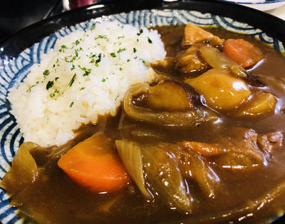残り野菜たっぷり☆スパイスカレー