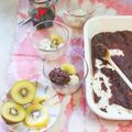 白玉、あんこ、黒糖シロップ、手作りの幸せ♪