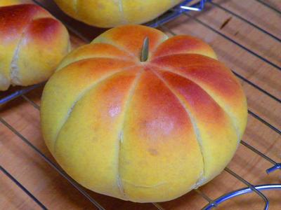 天然酵母のかぼちゃパン