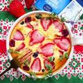混ぜて焼くだけ!ベリーベリーチーズクラフティ☆アーラ ナチュラルクリームチーズ使用。 by ルシッカさん