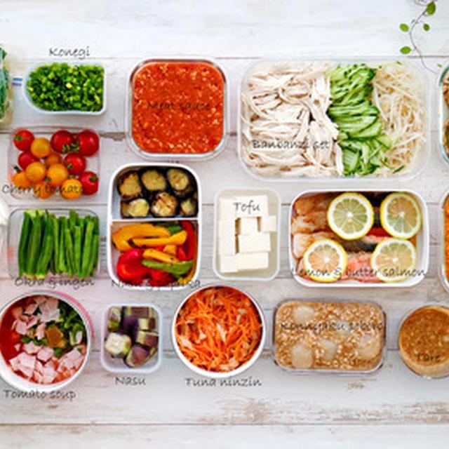 平日分を2時間で作り置き!ヘルシーで色鮮やかな夏野菜メニュー