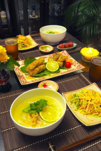 久しぶりの休日ベトナム料理