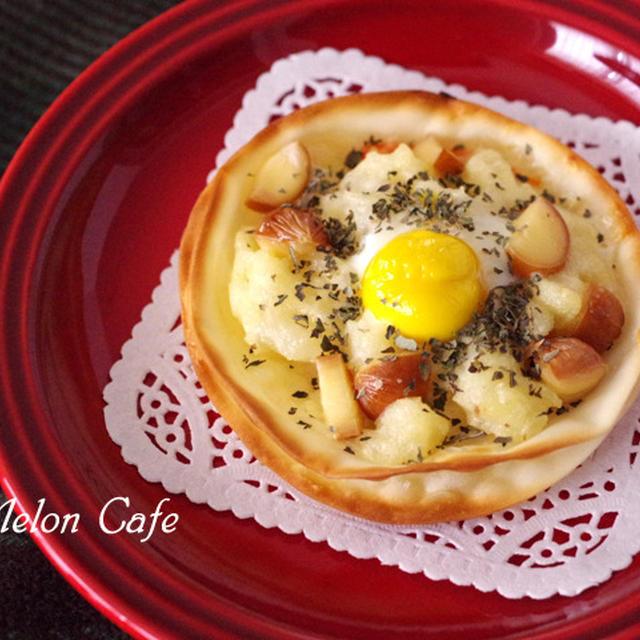 カリサク食感の超簡単チーズクリスピーピザ☆小岩井乳業の乳製品で、おうちパーティーを楽しもう♪(モニターレシピ)