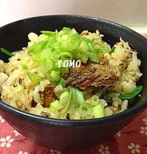 サバ味噌煮缶 de 簡単炊き込みご飯