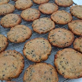 味噌胡麻クッキー