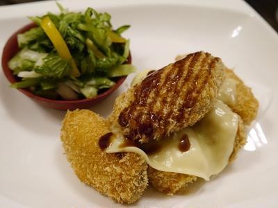 ★ 大きな冷凍牡蠣から牡蠣フライ