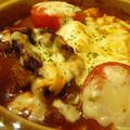 チーズがトロ〜リ☆洋風トマト肉豆腐