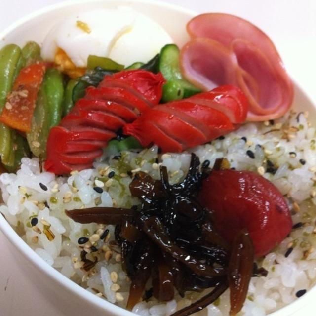 0801☆私の昼ご飯