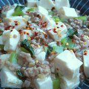 バリ粗唐辛子の塩生姜麻婆豆腐