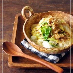 じゅわっと甘み溢れる♪簡単「白菜丼」レシピ