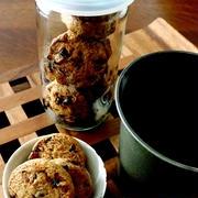 ちょっとブレイク・・ライ麦チョコクッキー&お日様にゃ♪