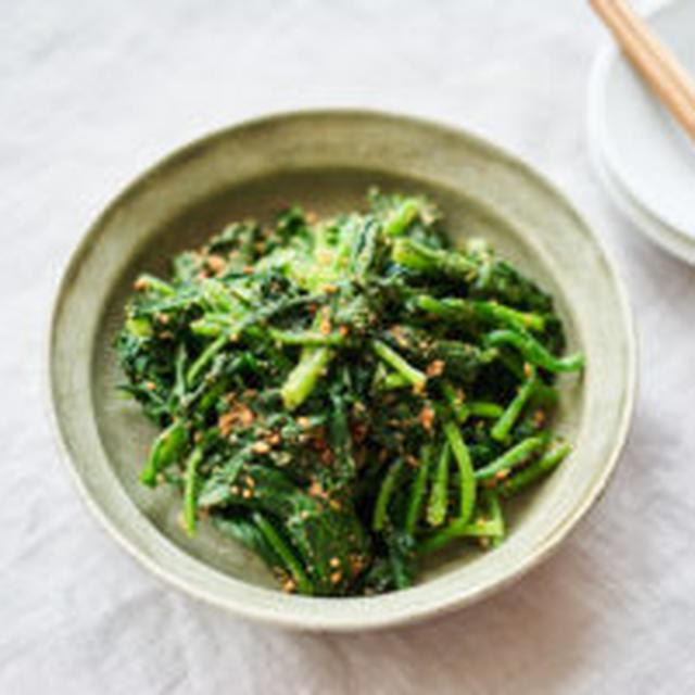 青菜のごま和え(ほうれん草のごま和え)