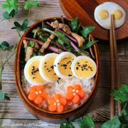 豚と赤水菜の柚子ぽん和え*お弁当