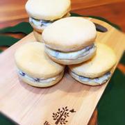 【お腹に嬉しいおやつ♪】プルーンバタークッキーサンド(〃艸〃)