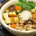 わさびおろしの鶏すき鍋 by 筋肉料理人さん