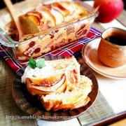 相性100%♡りんごとバナナ♡お豆腐ケーキ【HM使用♪】