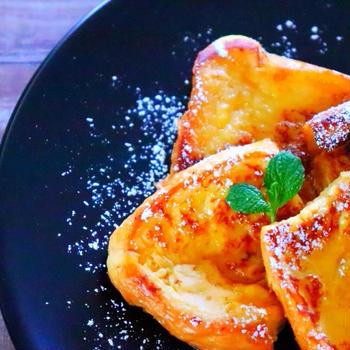 ふわとろ食感♡甘酒フレンチトーストの作り方 簡単レシピ【料理動画】