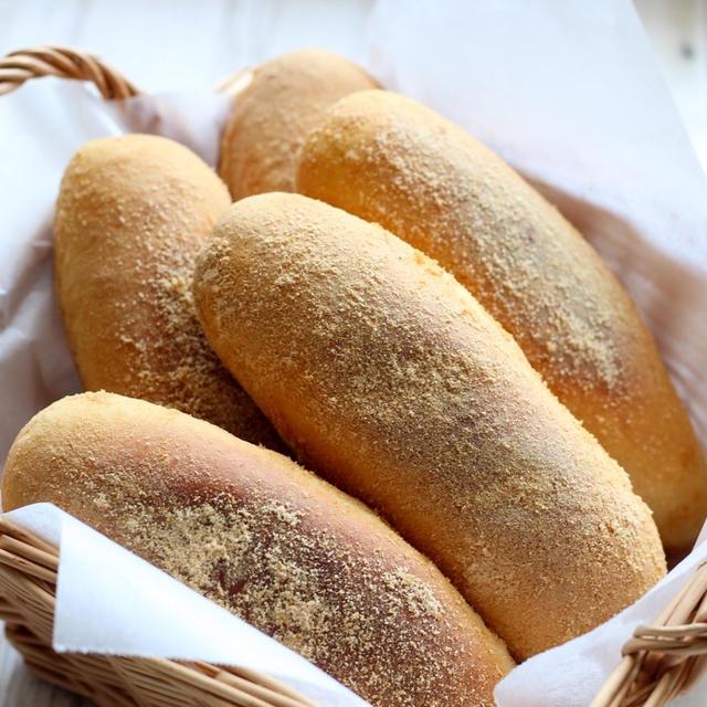 【パン】懐かしの味!一番人気のきなこ揚げパン