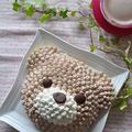 ルクエ新製品「デコマックス」で作る クマさんケーキ by nonさん