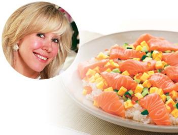 ミス・ユニバースを育てた、エリカ・アンギャルさん直伝の美肌レシピを伝授!!「美肌のための食生活のススメ in 北海道」 ~ キレイになれるノルウェーサーモンの秘密 ~