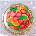 きらきらティ~Time♥ ~フルーツドームケーキ~
