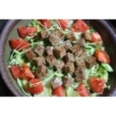 ≪7種の穀物の パンサラダ≫