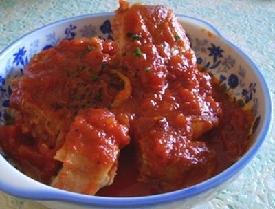 鶏肉のトマト煮 イタリア風?