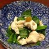 鶏胸肉と小松菜のヘルシー小鉢(柚子胡椒風味&わさび風味)