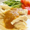 レンジで簡単に作れる!たんぱく質豊富!ダイエットにも嬉しい「蒸し鶏バンバンジー」レシピ