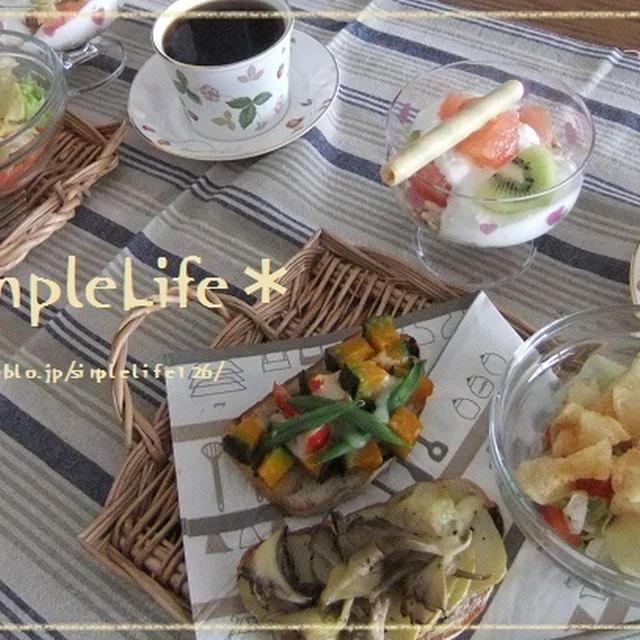 Cafeシンプルライフ・タルティーヌのモーニングセット