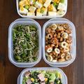 家にあるもので準備した超簡単な「副菜の作り置き」4品。