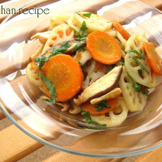 3種の野菜の冷やしきんぴら*・゜゚・*:.。..。.:*