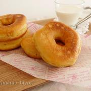 フライパンで作る♪ふわふわ豆乳ドーナツ