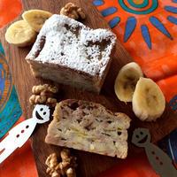 混ぜるだけ超簡単❣️南国の香り♡『バナナ&ココナッツのガトー・インビジブル』バナナ&HMで♪