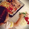 ピザ作り♪ / ♡あか♡ by Mariさん