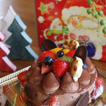 クリスマス チョコレートケーキ♪