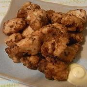 鶏むね肉のマスタードから揚げ