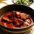 トマトとビーフの赤いカレー