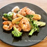 [スパイス大使]  海老のガパオ炒め レシピ