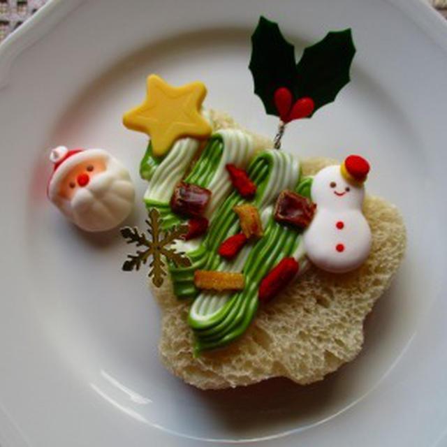 誰でも簡単に完成!クリスマスツリーパン♪