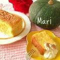 【簡単!】ふわ〜ん✨カステラ風✨かぼちゃケーキ by Mariさん