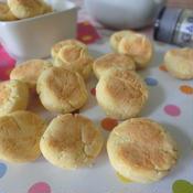 チーズ味のたまごボーロ風ソフトクッキー