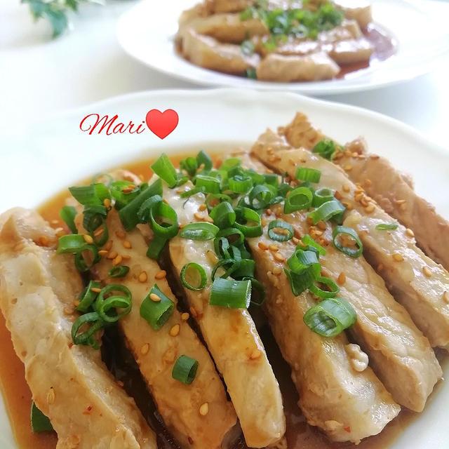 《レシピ有》ご飯が進む!豚肉ロースの焼肉たれ炒め、つるのおんがえし。