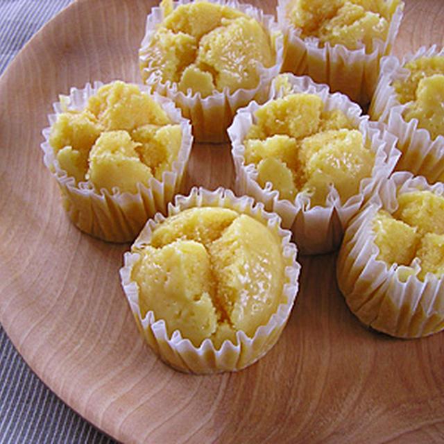 米粉で人参はちみつ蒸しケーキ(卵・乳製品なし)