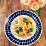 ブロッコリーと半熟ゆで卵のサラダ